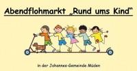 """Abendflohmarkt """"Rund ums Kind"""""""